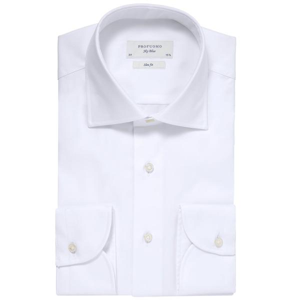 Overhemd Wit Slim Fit.Profuomo Overhemd Sky Blue Kopen Koop Hier Online