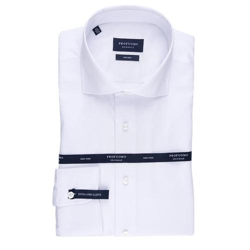 Profuomo Overhemd.Profuomo Overhemd Met Extra Lange Mouwlengte Kopen