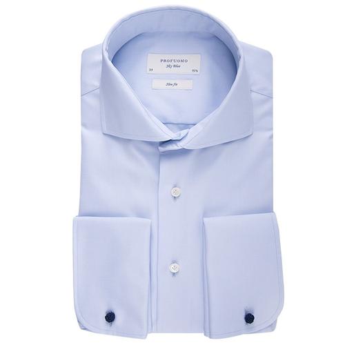 Profuomo Overhemd.Profuomo Overhemd Slim Fit Blauw Sky Blue