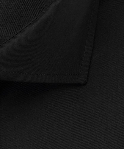 Profuomo Overhemd - Zwart - Slim Fit - Royal Twill (3)
