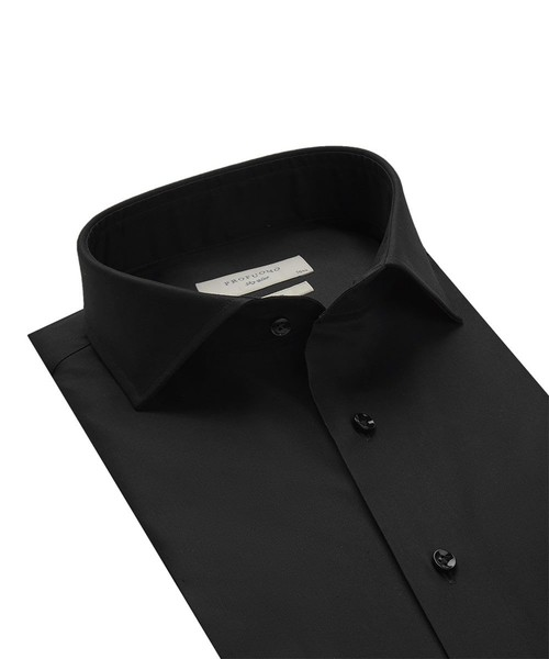 Profuomo Overhemd - Zwart - Slim Fit - Royal Twill (2)
