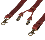 Wiseguy Suspenders - Crazy Horse - Oxblood - Thumbnail 3